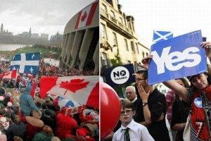 Guardian: w mia�d��cej wi�kszo�� referend�w na �wiecie wygrali zwolennicy niepodleg�o�ci