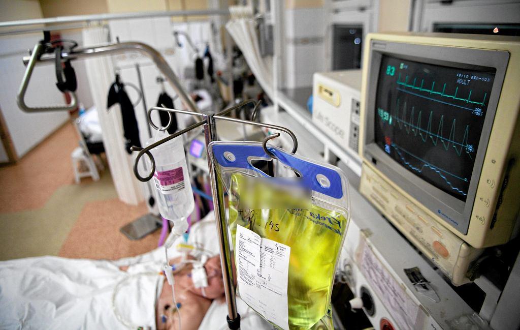 Panującą tu od rana ciszę przerywa nagły przyjazd nowego pacjenta (fot. Agencja Gazeta / zdjęcie ilustracyjne)