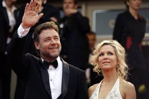 Russell Crowe rozsta� si� z �on�!