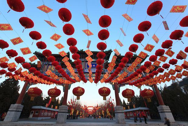 Chiński Nowy Rok Pekin / shutterstock