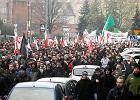 """Manifestacja """"Nie! dla imigrantów"""" w Gdańsku"""