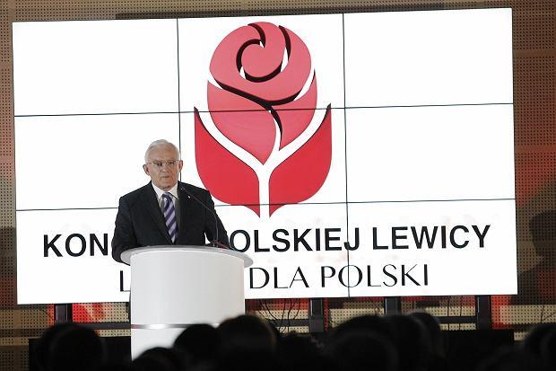 Leszek Miller na Kongresie Lewicy