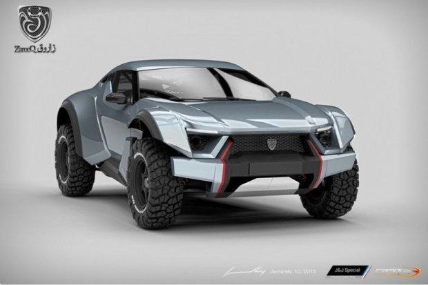 Zarooq Motors Sand Racer | Pustynna wy�cig�wka