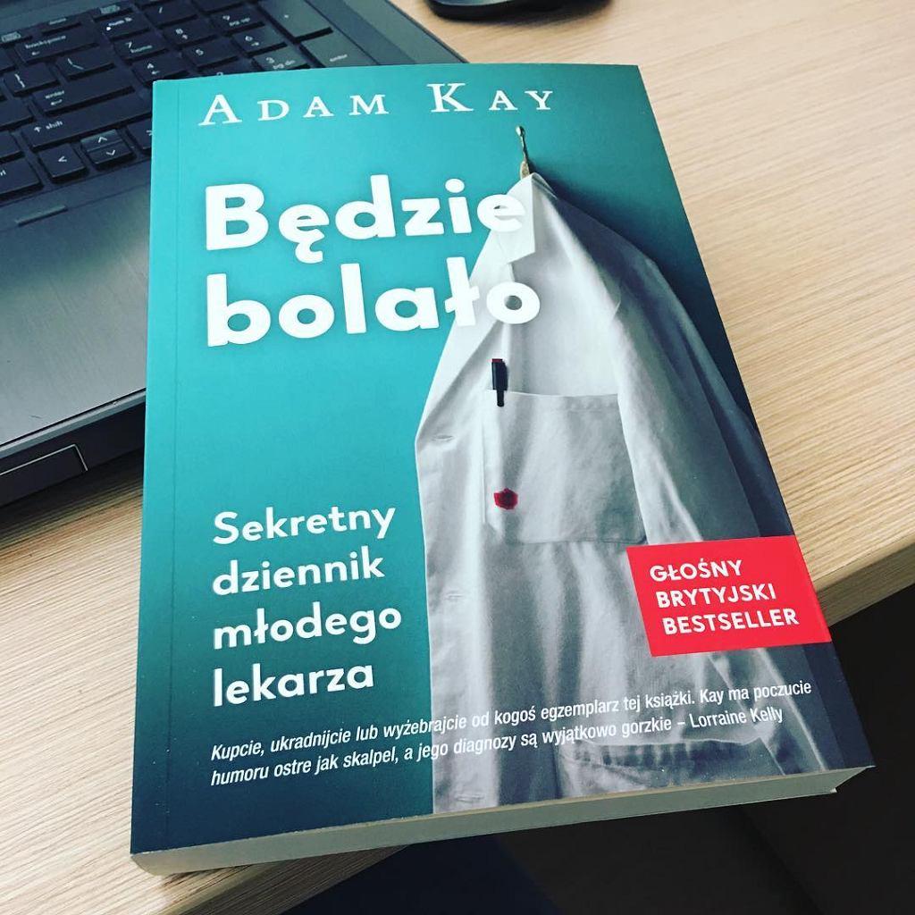Książka 'Będzie bolało' autorstwa Adama Kaya