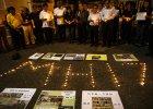 Mieszka�cy Kuala Lumpur upami�tniaj� ofiary katastrofy