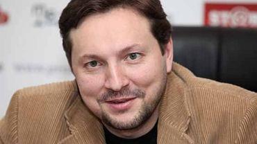 Minister polityki informacyjnej Ukrainy Jurij Stec