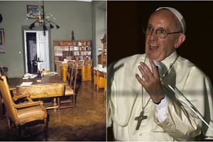 Papie� Franciszek podczas �wiatowych Dni M�odzie�y w Krakowie zatrzyma� si� w Pa�acu Arcybiskup�w Krakowskich przy ul. Franciszka�skiej 3. Tym samym, w kt�rym niegdy� mieszka� Karol Wojty�a. To w�a�nie tu zatrzymywa� si� ju� jako Jan Pawe� II, tu mieszka� tak�e Benedykt XVI, gdy odwiedza� Krak�w. Zobaczcie wn�trza Pa�acu Arcybiskup�w Krakowskich.