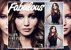 """Ulubienica Hollywood, pi�kna Jennifer Lawrence, dla """"Fabulous Magazine"""": Boj� si� tylko paj�k�w i duch�w [WYWIAD + ZDJ�CIA]"""