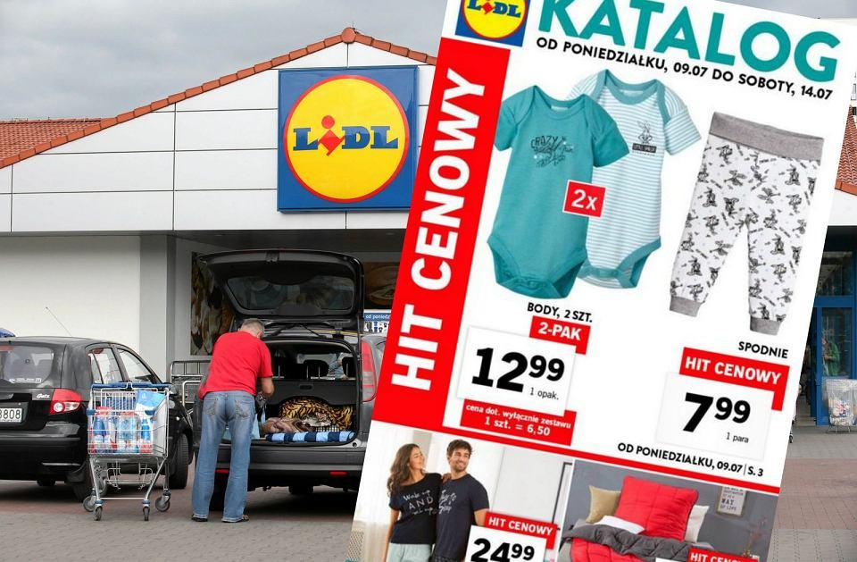 Gazetka Lidla od 9.07 - w promocji ubranka dla dzieci, piżamy na lato i zestaw dwóch walizek w atrakcyjnej cenie