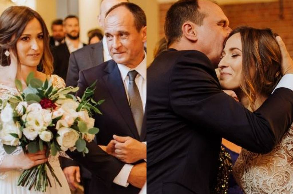 Paweł Kukiz z córką