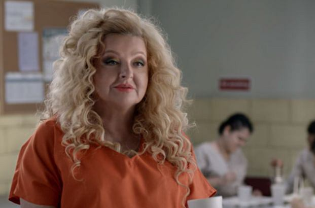 Magda Gessler promuje serial 'Orange is The New Black'