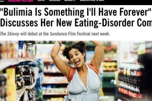 Ob�miewa wszystko - nawet w�asn� bulimi� oraz to, �e zosta�a zgwa�cona