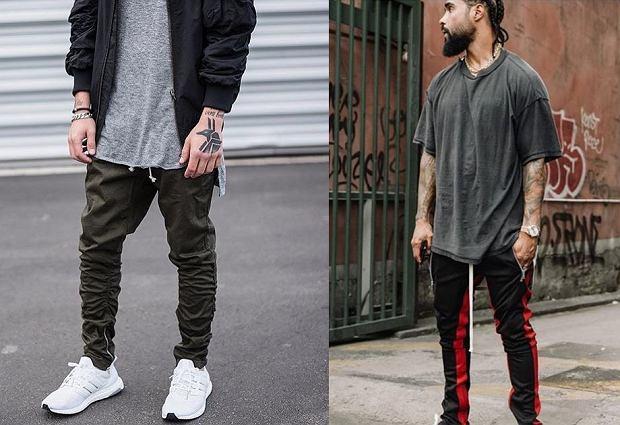 Joggery - spodnie dresowe męskie