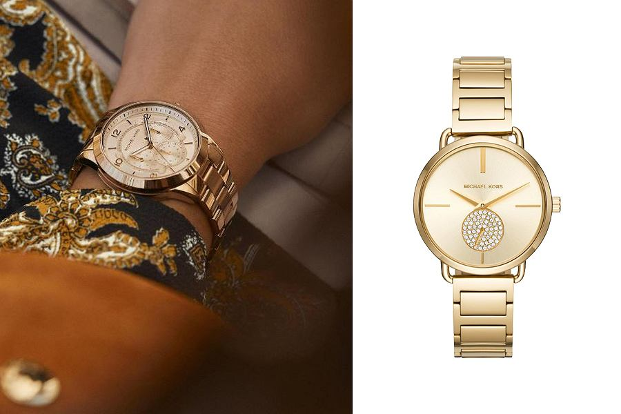 zegarek Michael Kors na bransolecie