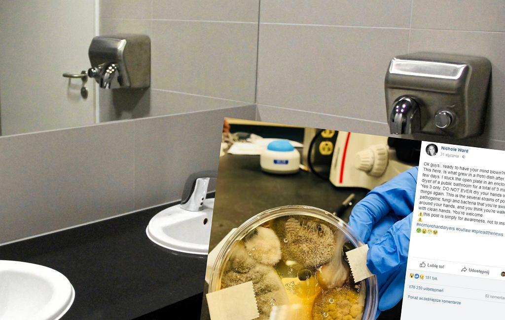 Czy suszarki w łazienkach są higieniczne?