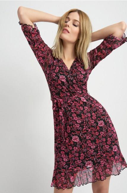 Siateczkowa sukienka Orsay
