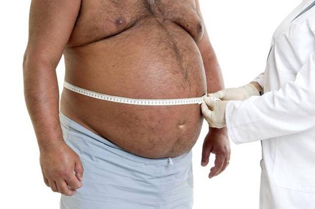 Oty�o�� brzuszn� diagnozuje si� na podstawie pomiaru obwodu pasa lub stosunku obwodu pasa do obwodu bioder