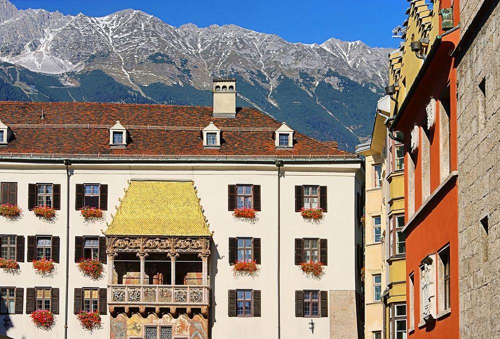 Innsbruck 2 W 1 W Mieście Już Wiosna Na Lodowcu Zima W Pełni