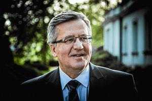 Bronisław Komorowski będzie dyrektorem centrum swojego imienia