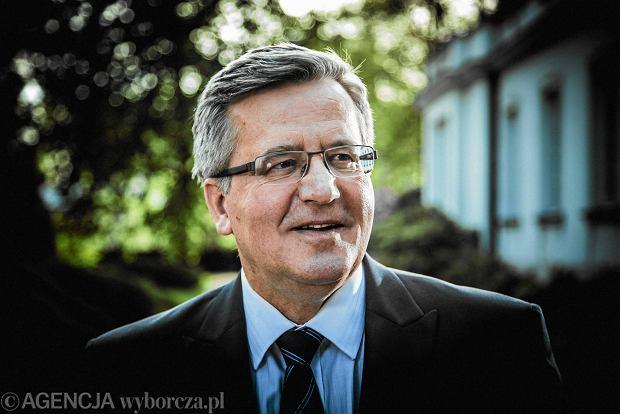 Bronis�aw Komorowski b�dzie dyrektorem centrum swojego imienia