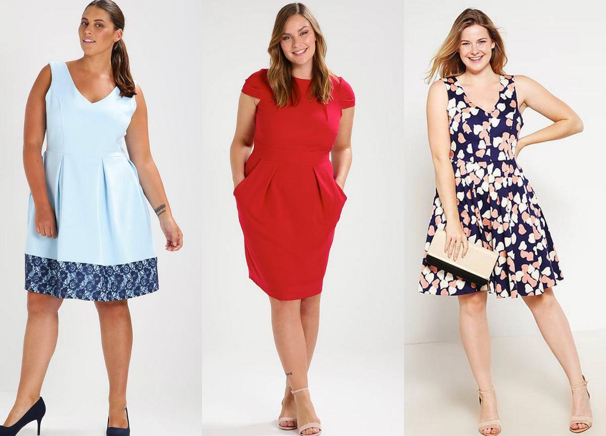 2070239db116 Sukienki na specjalne okazje  Moda plus size