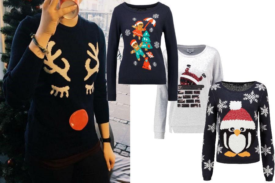 Sweterki świąteczne: arch. prywatne/mat. partnera