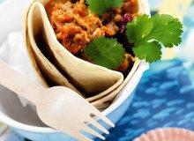 Tortilla z farszem rybnym - ugotuj