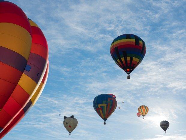 Z balonu �wiat wygl�da przepi�knie