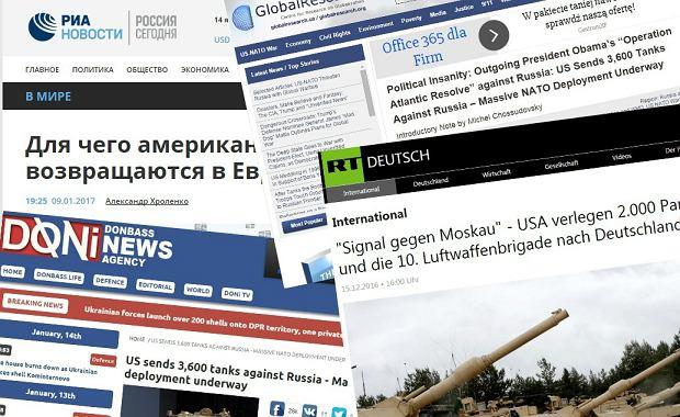 Oto, jak rosyjskie media dezinformują nt. wojsk USA w Polsce. Z 87 czołgów zrobili... 3600