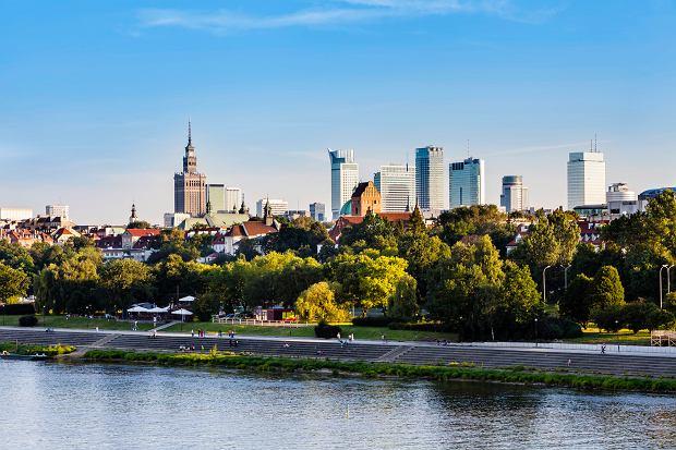 Trasy i �cie�ki rowerowe w Warszawie i nad Wis��