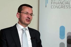 Morawiecki: w ci�gu 3-4 miesi�cy propozycja ws. integracji PIT, sk�adki ZUS i zdrowotnej