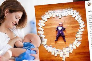 Pokazałazdjęcie córeczkiw otoczeniu własnego mleka. Miała bardzo ważnypowód. Wiedziałaś o tym? [ZDJĘCIA]