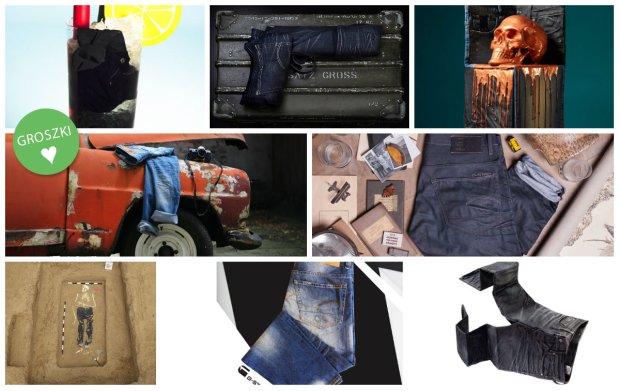 Projekt Packshot G-Star Raw i Answear.com: zobacz nieszablonowe, wr�cz artystyczne kompozycje stworzone przy u�yciu jeans�w G-Star Raw!