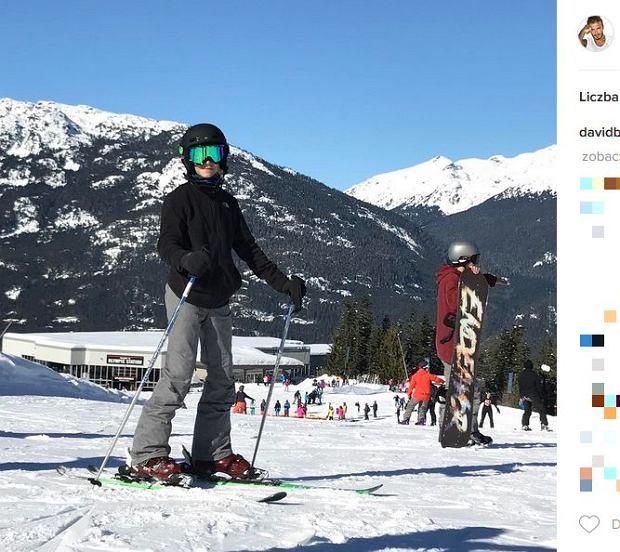 Zdjęcie numer 12 w galerii - Rodzina Beckhamów w górach. Harper uczy się jeździć na nartach! Nie obyło się bez WYPADKU. Zobaczcie nagranie