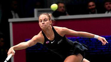 French Open. Magda Linette w drugiej rundzie turnieju w Paryżu. Zaczęło się  od 6 0 0491e88d785