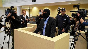 17 stycznia 2017 r. Dziennikarze w sali rozpraw podczas przesłuchania świadków