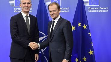 Jens Stoltenberg i Donald Tusk