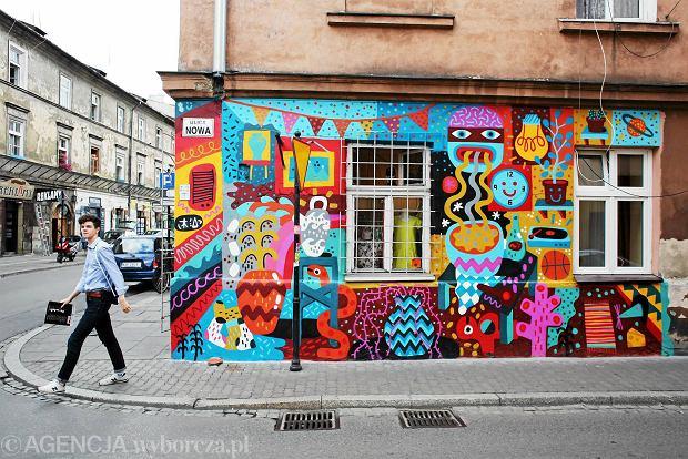 Nowe murale na krakowskich murach w r nych dzielnicach for Mural na tamie w solinie