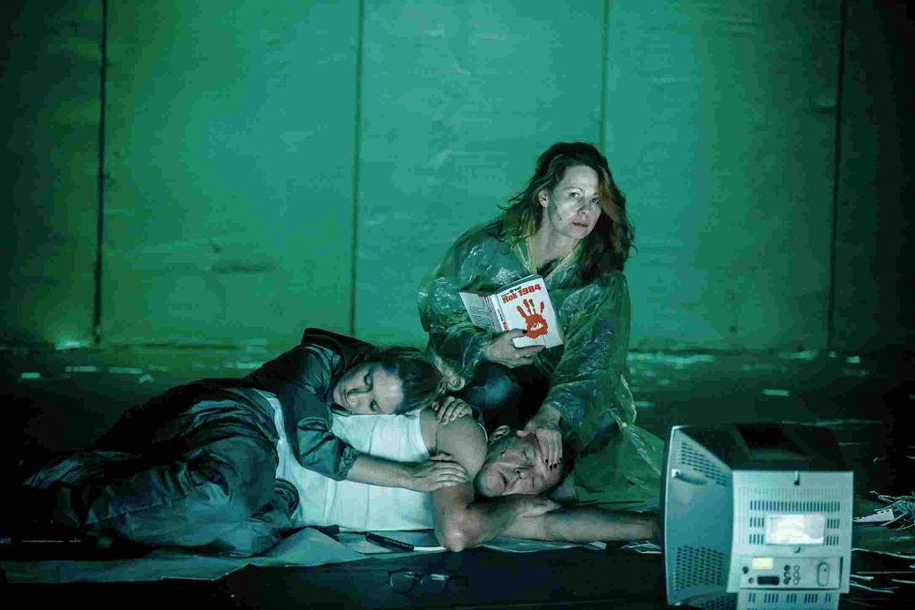 Spektakl '1984' w Teatrze Powszechnym reż. Barbara Wysocka / fot. Krzysztof Bieliński