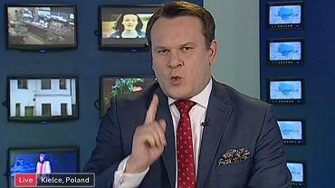 Dominik Tarczyński w Channel 4 o imigrantach