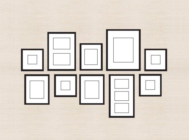 Planowanie domowej galerii obrazów