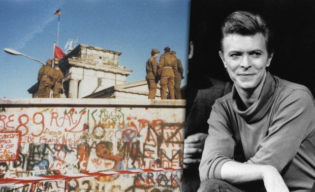 David Bowie i Mur Berliński