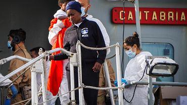 Akcja ratunkowa na Morzu Śródziemnym
