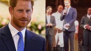 Książę Harry zaśpiewał podczas musicalu 'Hamilton'