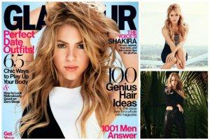 """Shakira gwiazd� lutowego """"Glamour US"""": M�j Gerard woli mi�so od ko�ci, dlatego nie kr�c� go chude dziewczyny [ZDJ�CIA + WYWIAD]"""
