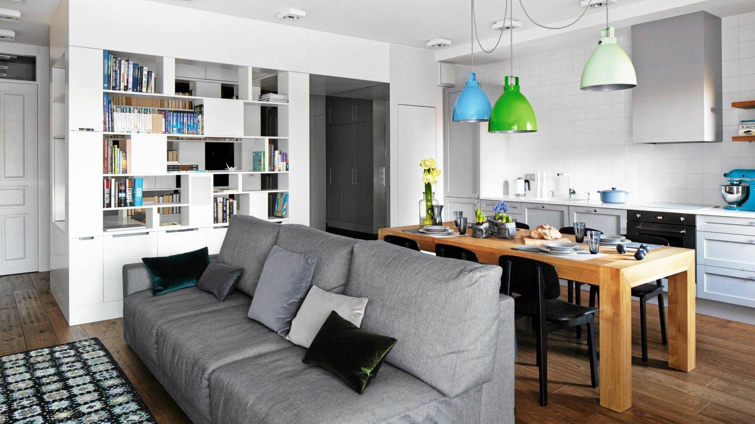 Kuchnia otwarta na salon Jak stworzyć przyjazną przestrzeń -> Kuchnia Szeroko Otwarta Domowe Wedliny