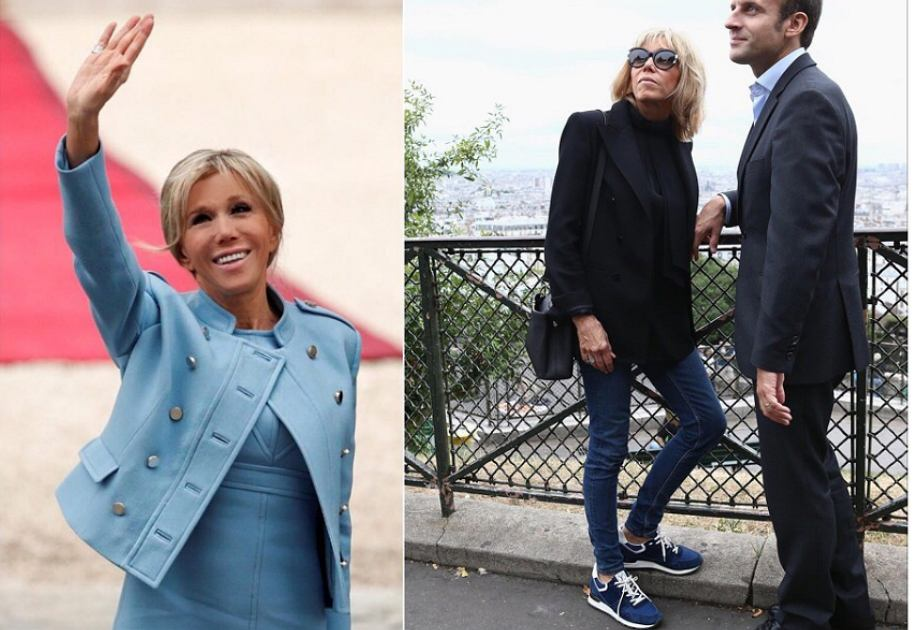 Brigitte Macron - stylizacja