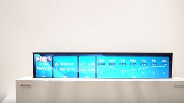 Prototyp zwijanego telewizora LG