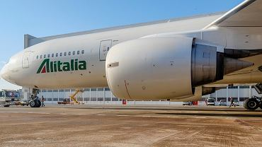 Samolot linii Alitalia