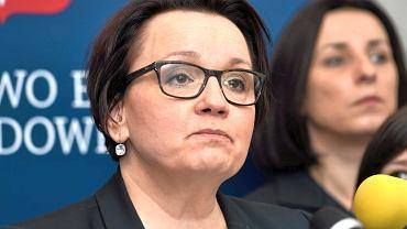 Anna Zalewska, minister edukacji